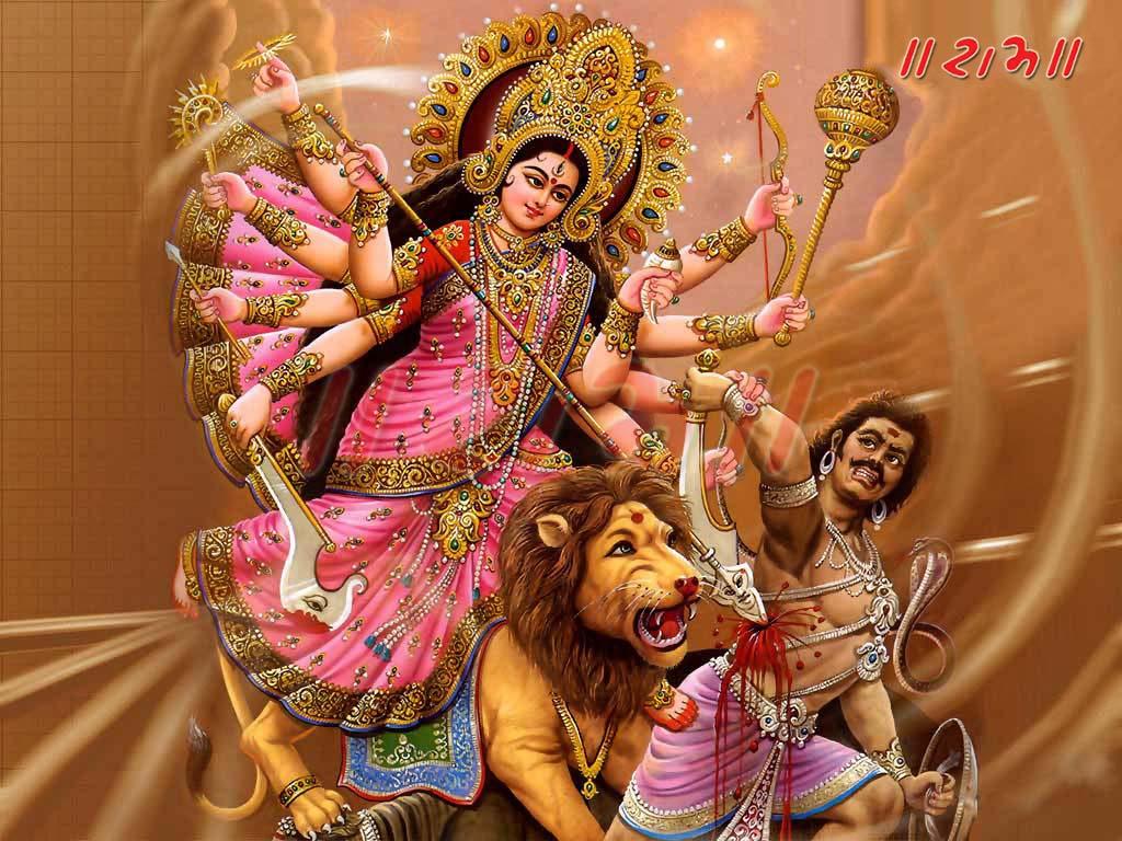 மஹிஷாசுரமர்த்தினி – தமிழ் பாடல் வடிவில்