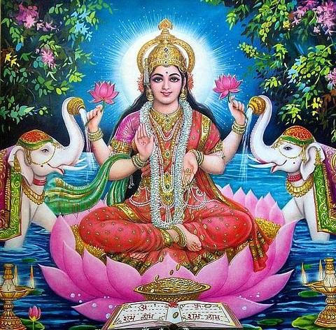 ஸ்ரீ வரலட்சுமி விரதம் வந்த கதை - பாடலாக...